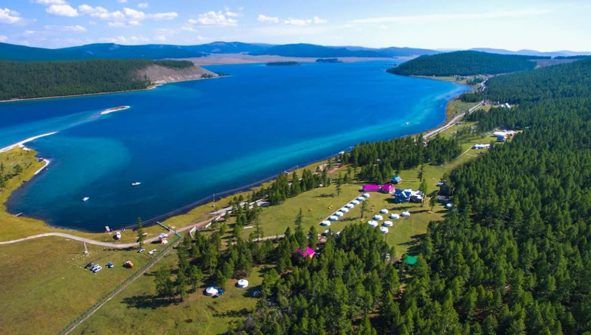 Khuvsgul lake receives over 100 thousand tourists
