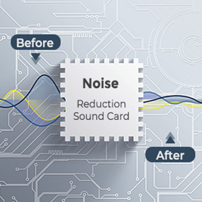 Noise Reduction Sound Card