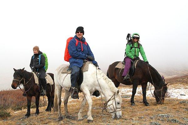 RIDING A HORSE TO MEET SHAMANS