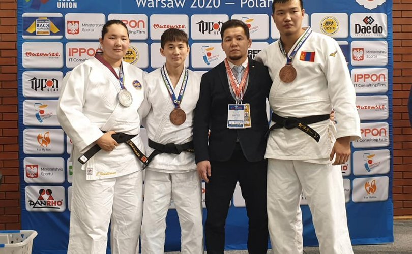 Judokas win medals at Warsaw Europe Open