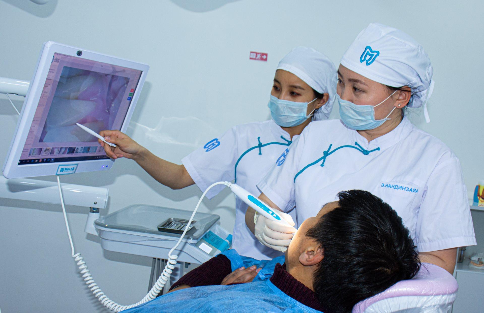 Шүдний өвчний оношилгоо, эмчилгээ