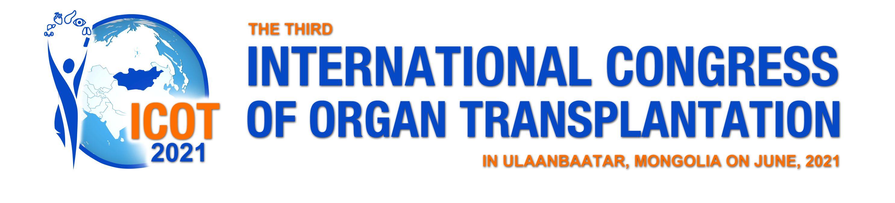 ICOT | International Congress of Organ Transplantation