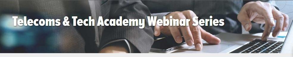 Essential technology & business webinars