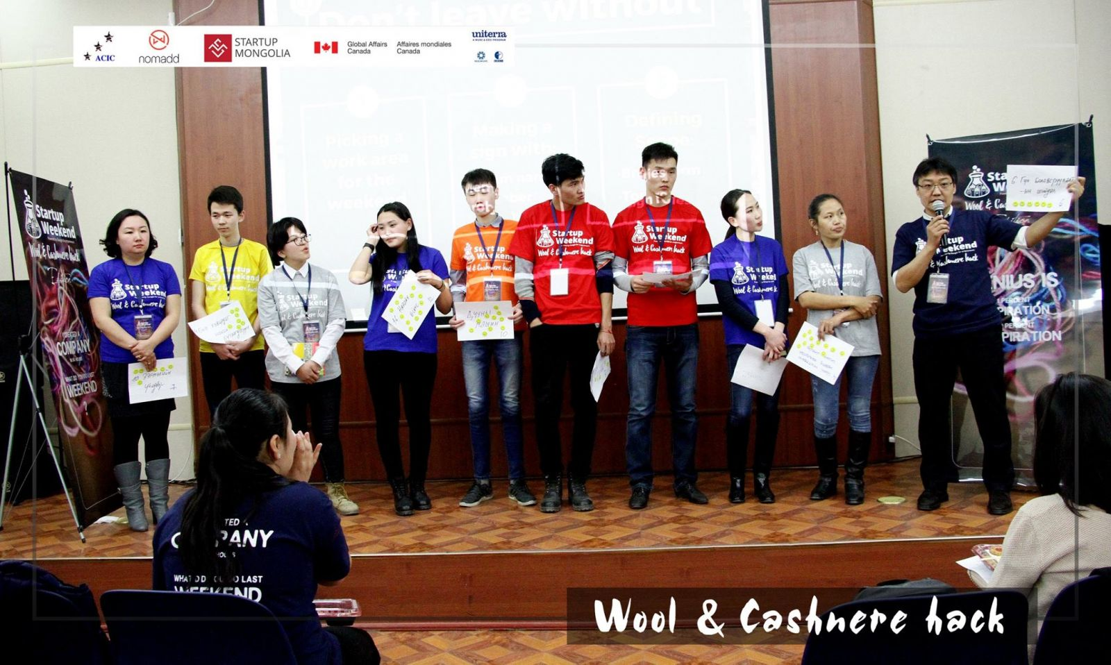 Startup Weekend – Wool & Cashmere Hack edition