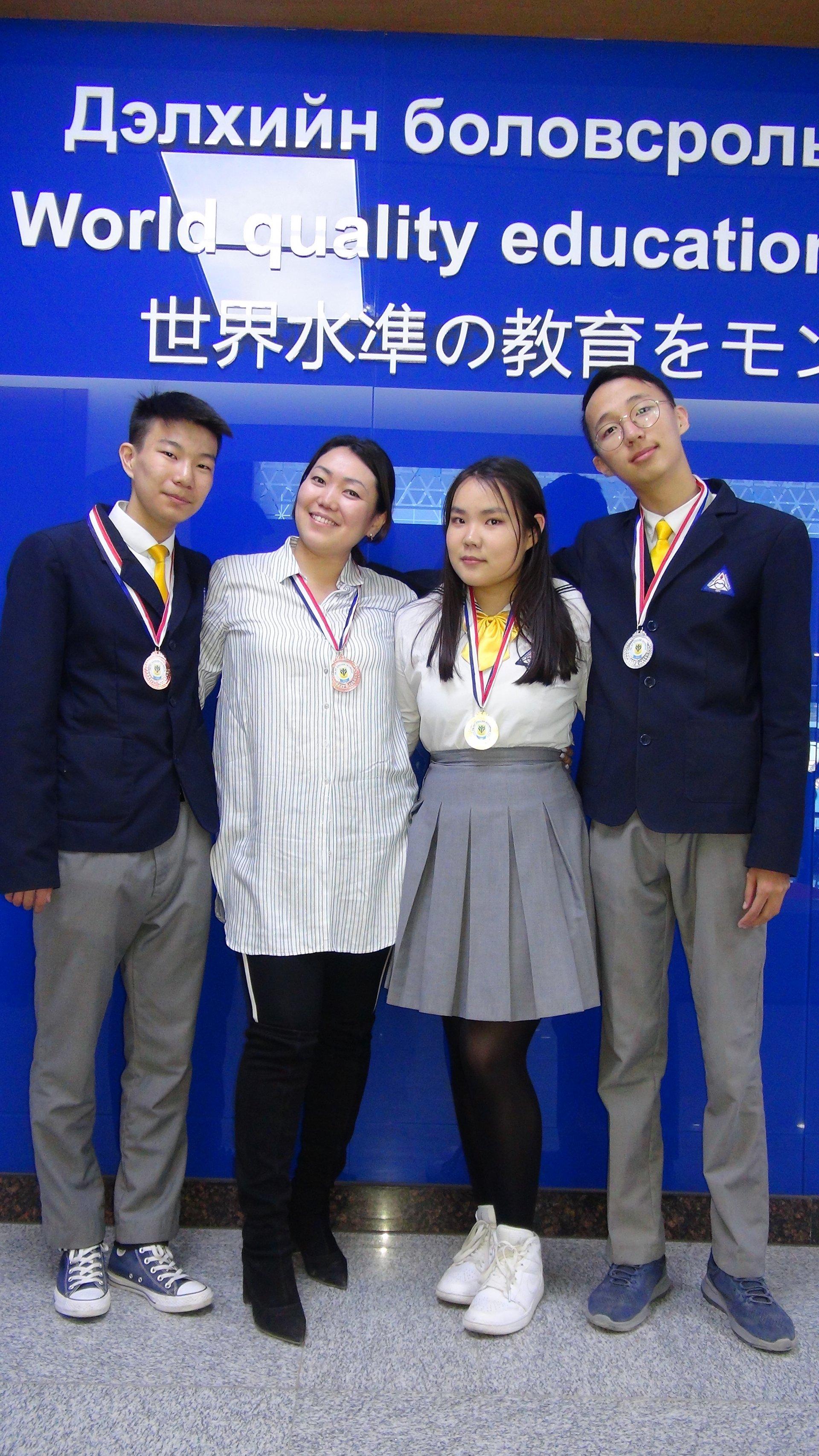 Хобби сургуулийн нэрэмжит англи хэлний 16-р олимпиадад амжилттай оролцлоо