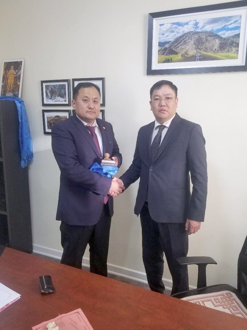 New director of Environment and Climate Fund of Mongolia