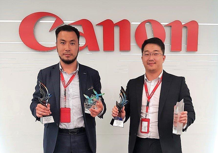 Ази тивийн бүсээс хамгийн өсөлттэй яваа бизнесээр Canon Mongolia шалгарлаа