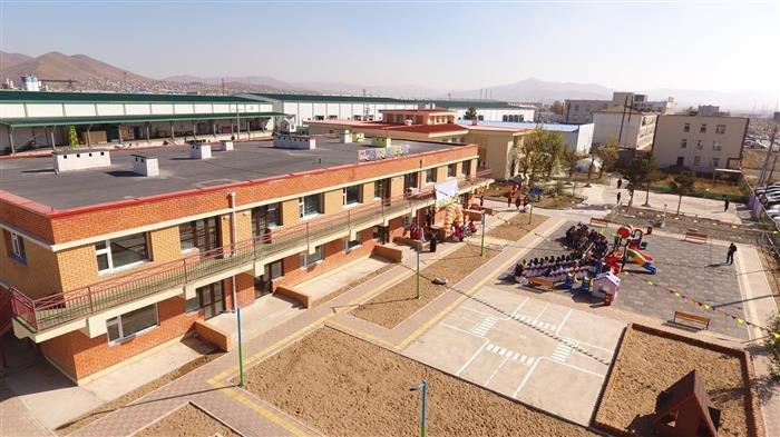 Баянзүрх дүүргийн гуравдугаар хороонд байрлах 62 дугаар цэцэрлэгийн өргөтгөлийн барилга ашиглалтад орлоо