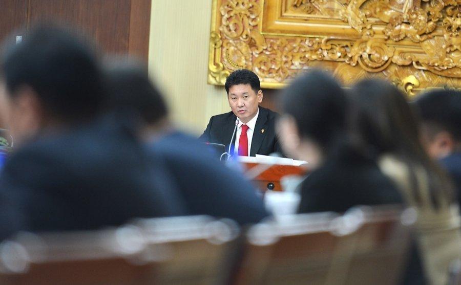 Ерөнхийлөгч Х.Баттулгын санаачлан боловсруулсан Монгол Улсын Үндсэн хуульд оруулах нэмэлт, өөрчлөлтийн төслийг хэлэлцэв