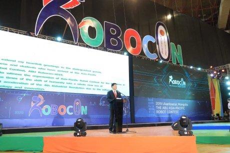 У.Хүрэлсүх ABU ROBOCON-2019 MONGOLIA