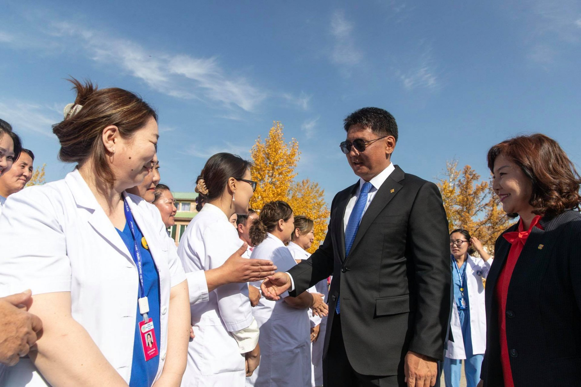 Ерөнхий сайд Хөвсгөл аймгийн Нэгдсэн эмнэлэгт ажиллалаа