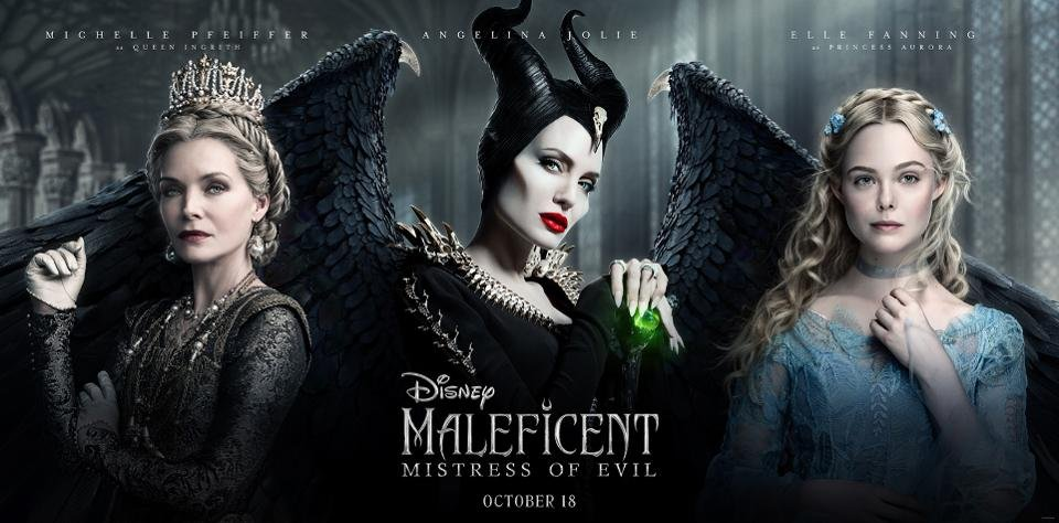 """Maleficent-Mistress of Evil"" шилдэг кинонуудын жагсаалтыг тэргүүлжээ"