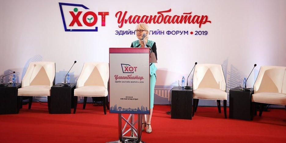 Биата Транкманн: Монгол Улсад төсөл хөтөлбөр тогтвортой хэрэгжсэнээр хөгжих болно