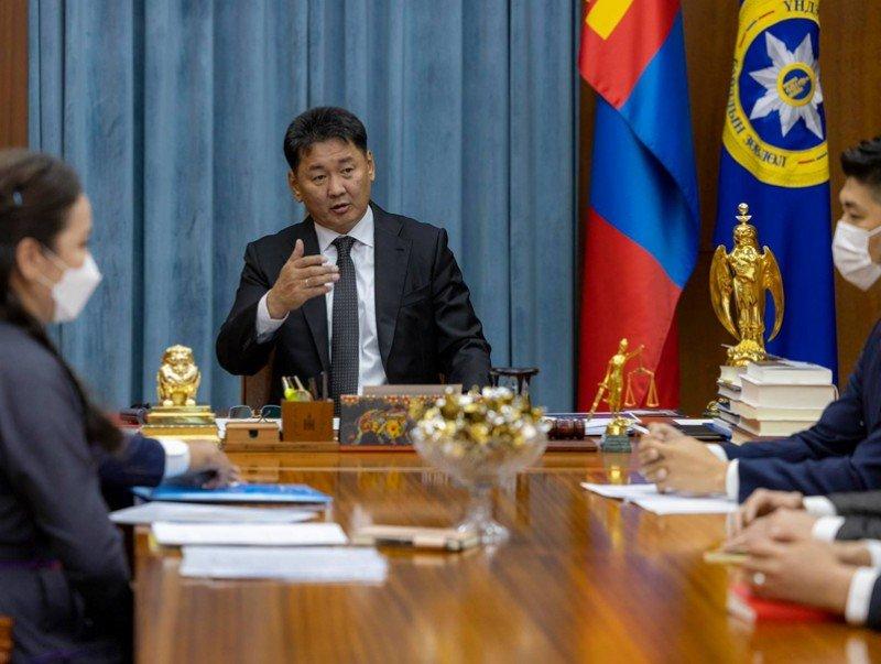 Монгол Улсын Ерөнхийлөгч Хилийн чанад дахь монголчуудын зөвлөлийн төлөөллийг хүлээн авч уулзав