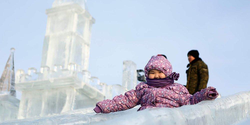 Сүхбаатарын талбайд мөсөн хотхон байгуулах уралдаан зарлалаа