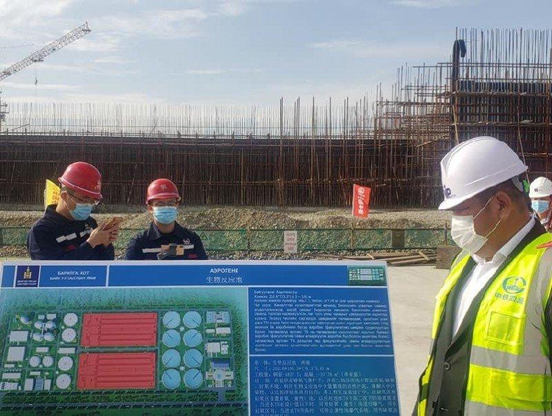 Шинэ цэвэрлэх байгууламжийн биореакторын барилга угсралтын ажил 40 хувьтай байна