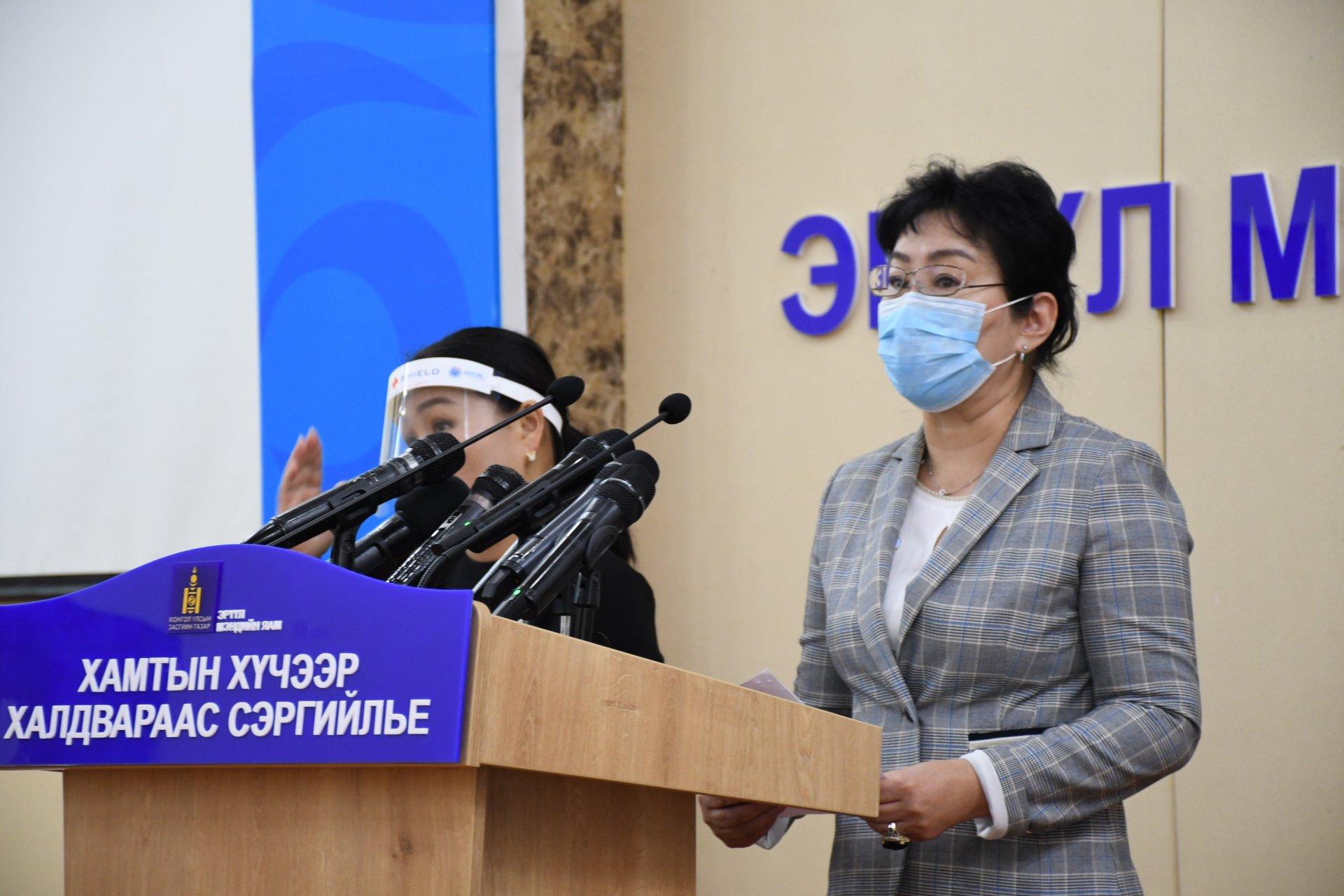 Д.Нарангэрэл: Өнгөрсөн өвөл манай улсын хүн амын дунд шинэ коронавирусийн халдвар гараагүйг баттай хэлж чадна