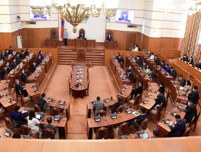 Улсын Их Хурлын 2021 оны намрын чуулган эхэллээ
