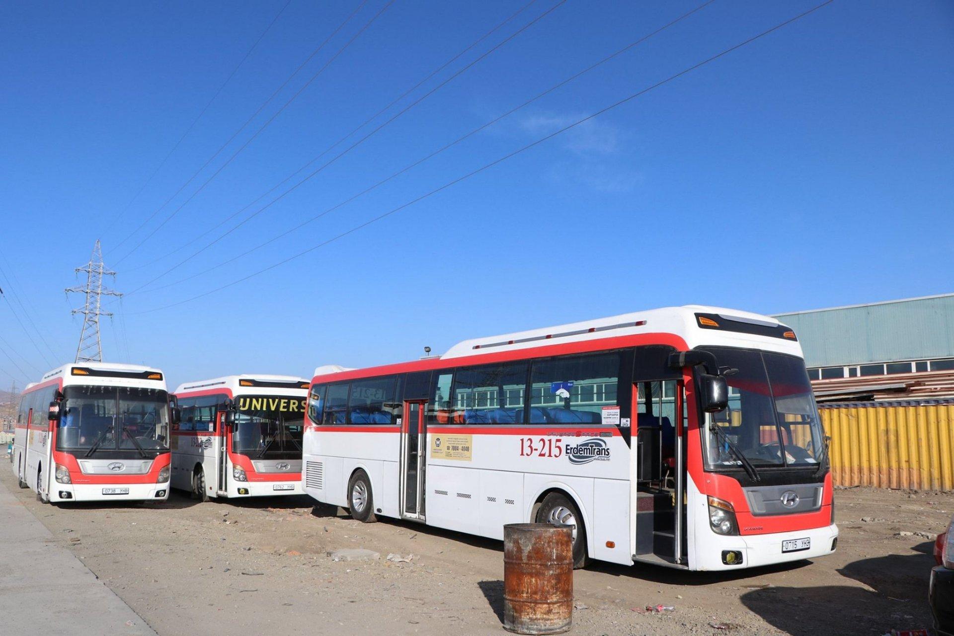 Налайхын чиглэлд хамгийн өнгө үзэмжтэй автобуснуудаа явуулна