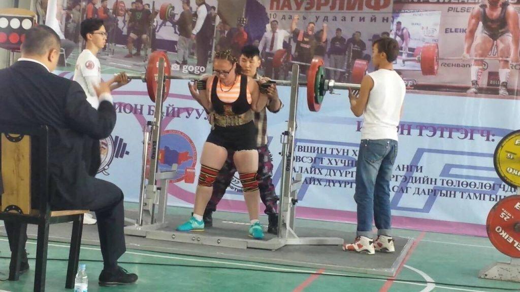 Дэд ахлагч Н.Номин Монгол Улсын рекордыг шинэчиллээ