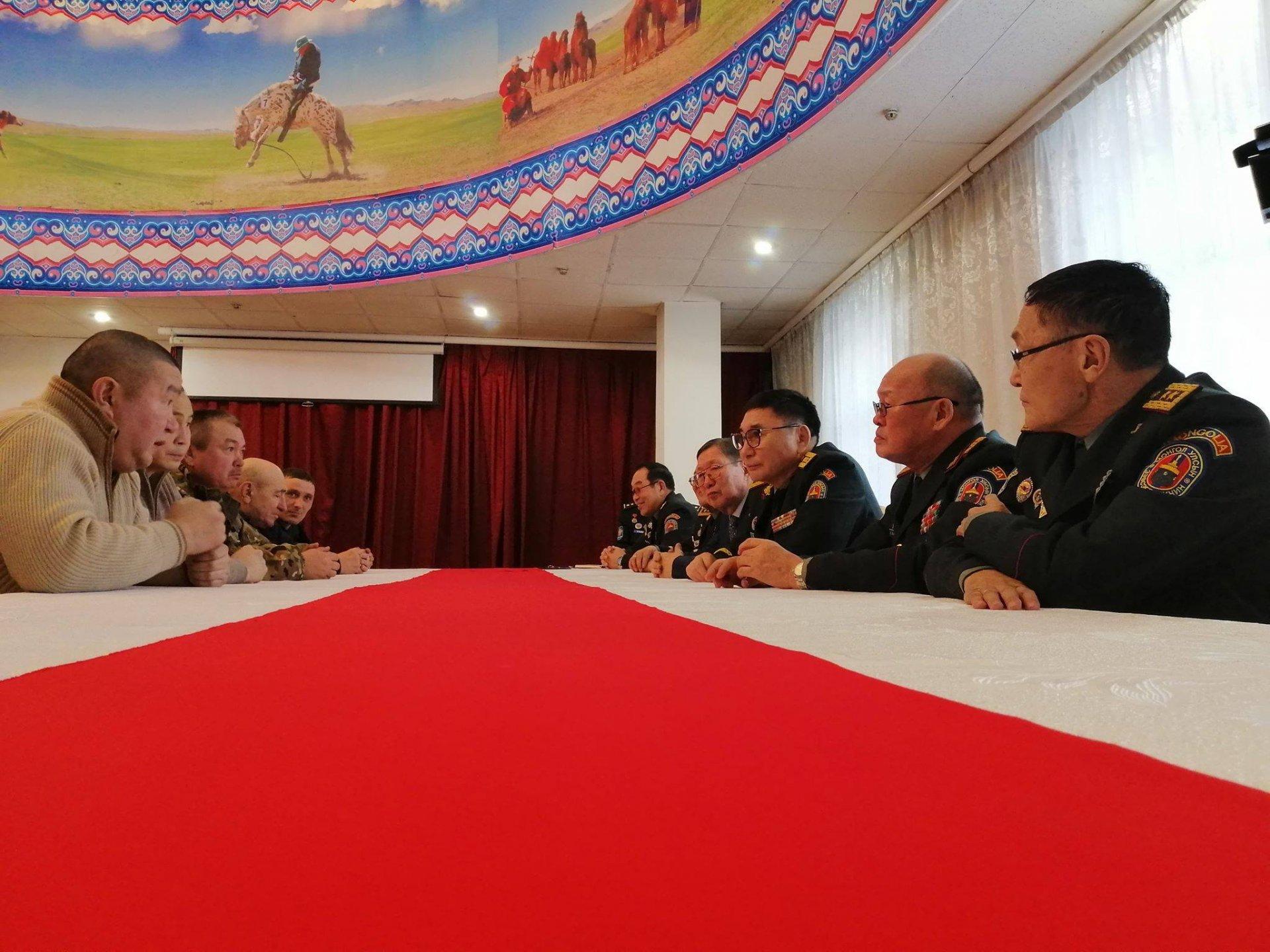 Монгол Улсын генералууд ЗХУ-ын маршал К.К.Рокоссовскийн хөшөө, музейн нээлтэд оролцлоо