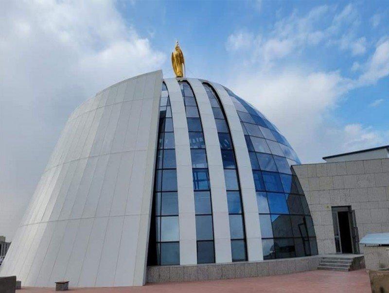 """""""Чингис хаан"""" музейн барилгын ажил бүрэн дуусчээ"""