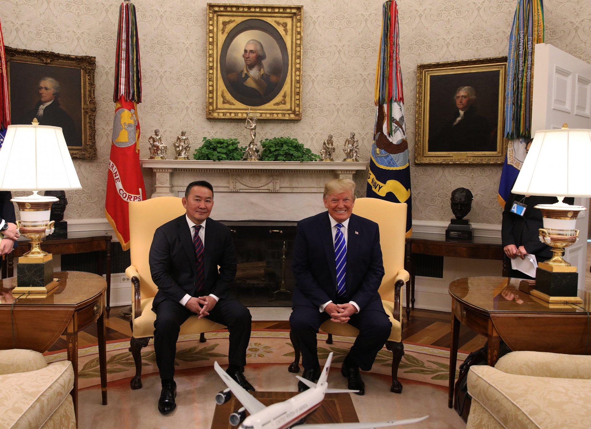 Монгол Улс, Америкийн Нэгдсэн Улс дараах тунхаглалыг гаргаж байна