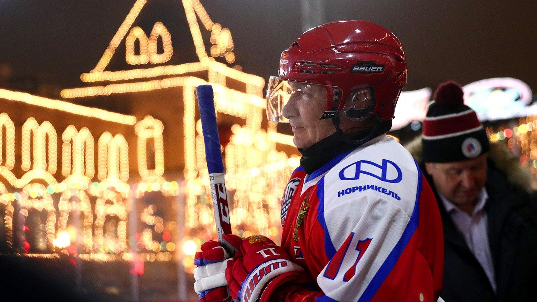 Путины баг хоккейн тэмцээнд түрүүлжээ