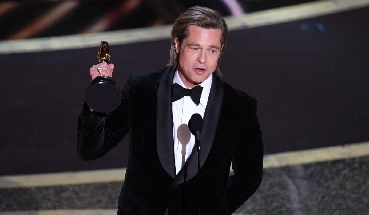 Жүжигчин Брэд Питт анх удаа Оскарын шагнал хүртлээ