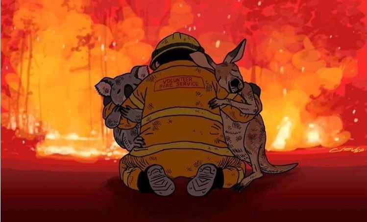 Австралийн гал түймрийн улмаас 24 хүн амиа алдаж, 500 сая амьтан шатжээ