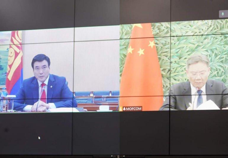 Монгол, Хятадын Засгийн газар хоорондын комиссын дарга нарын уулзалт боллоо