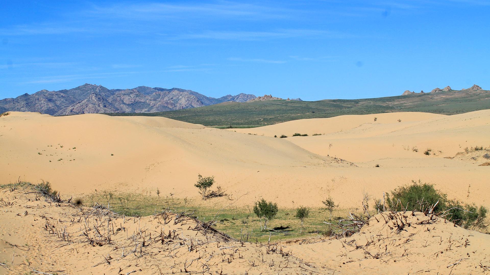 Elsen Tasarkhai Sand Dune