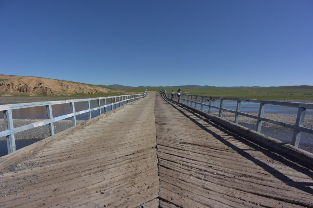 Ongotsot Bridge on Orkhon River