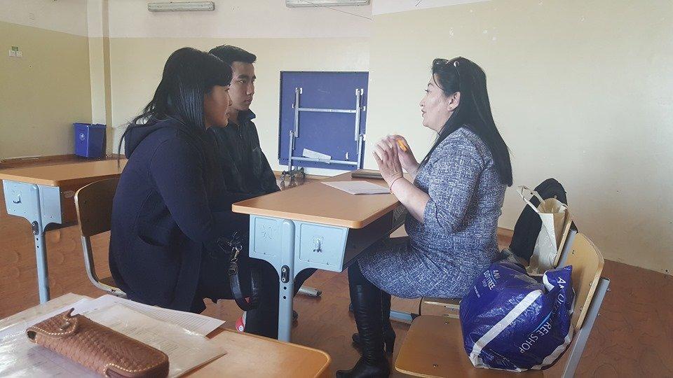 Олон Улсын Боловсрол Хөгжил Сангийн тэтгэлгийн шалгалт    Ховд аймагт амжилттай явагдаж өндөрлөлөө