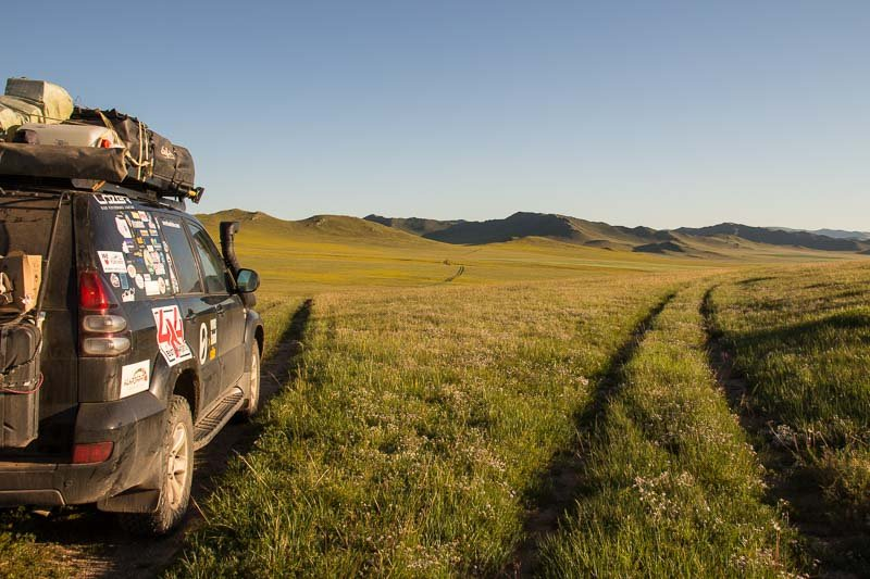 Overlanding through Mongolia