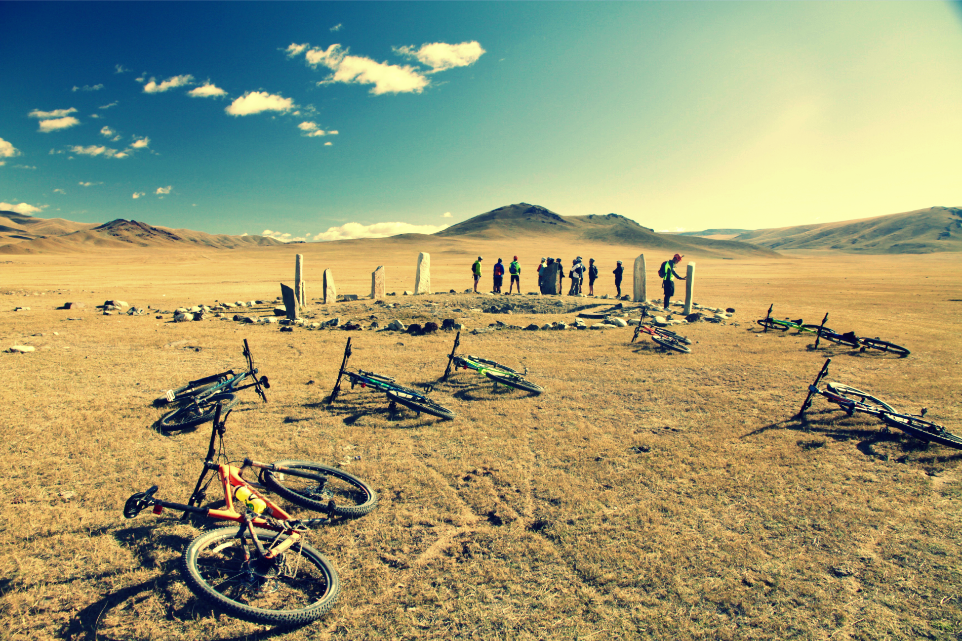 Arkhangai cycling trip