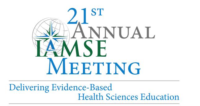 2017 IAMSE Annual Meeting