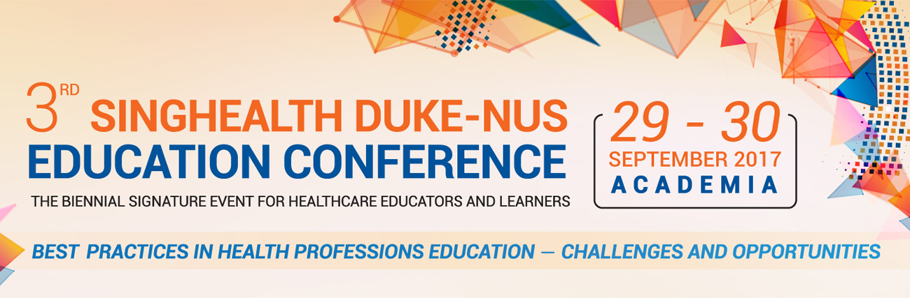 3rd SingHealth Duke-NUS Education Conference
