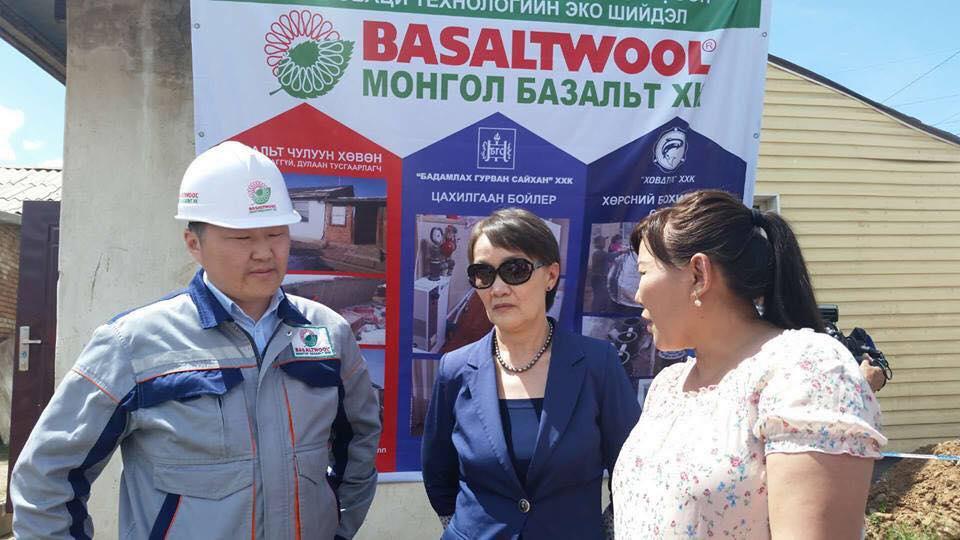 Монгол Базальт ХК-ны агаар орчин, хөрсний бохирдлыг бууруулахаар ажиллаж байна.
