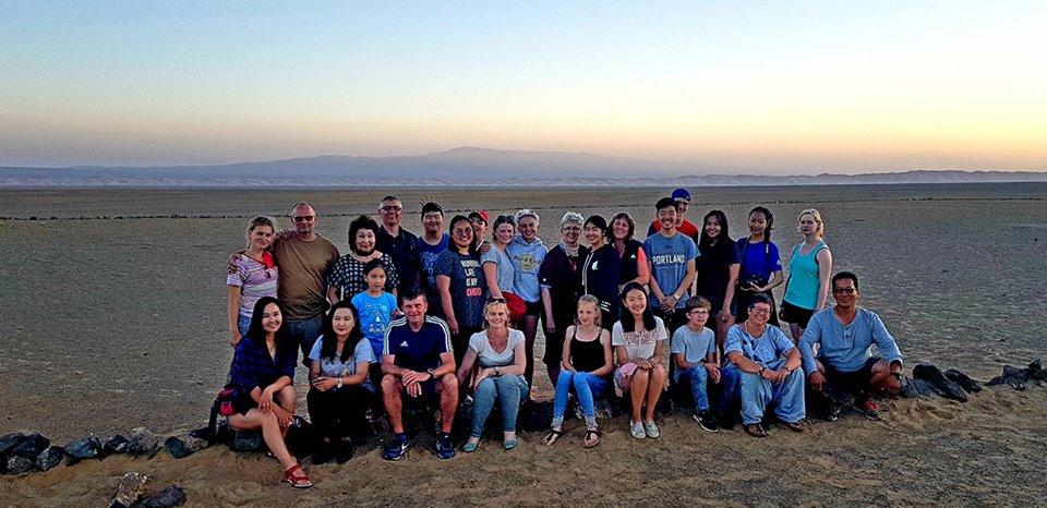 Боделшвинг гимназийн Монгол, Германы сурагчид говь, хангайн нутгаар 2224 км аяллаа