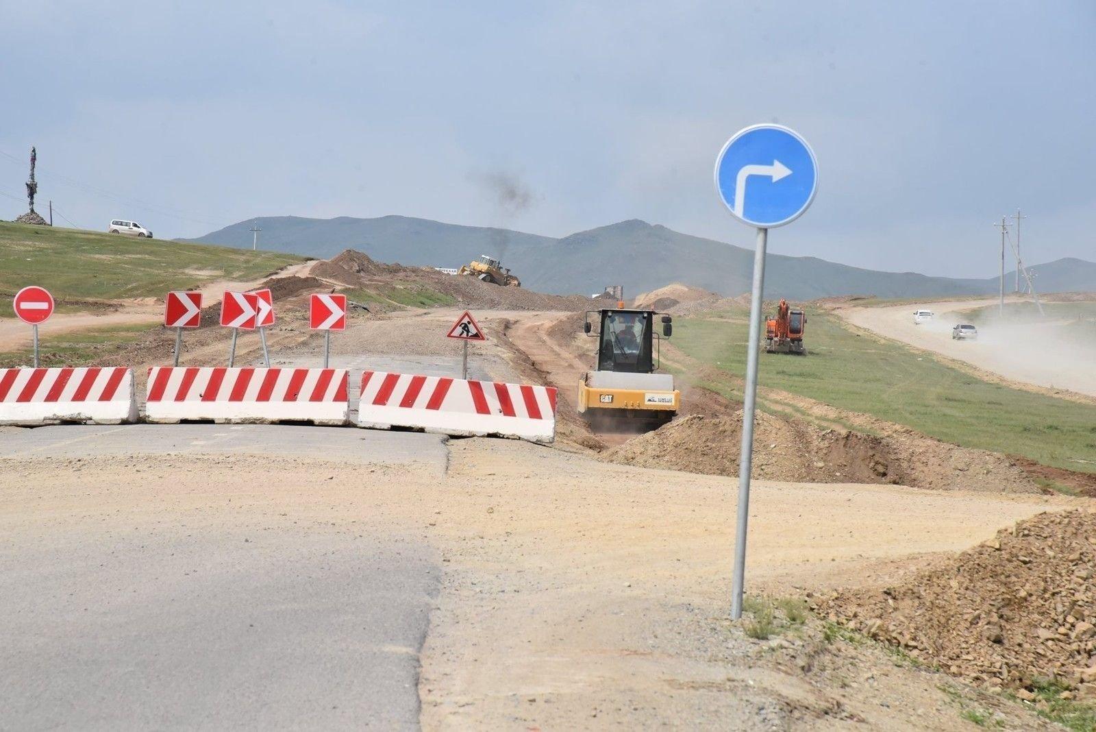 Улаанбаатар-Баянчандмань чиглэлийн 37 км авто замыг долоодугаар сард ашиглалтад оруулахаар ажиллаж байна