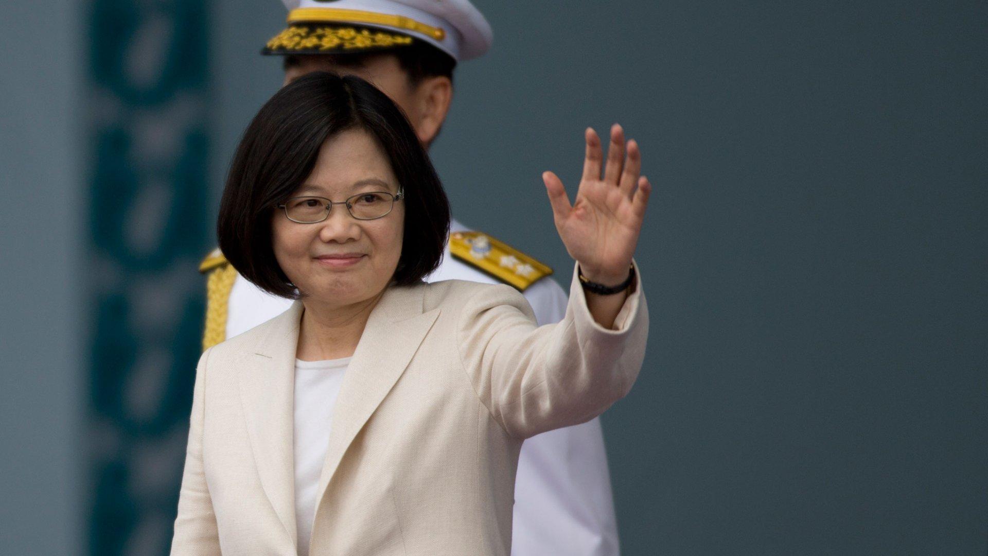 Тайванийн Ерөнхийлөгч тусгаар тогтнолыг нь хүндэтгэхийг Хятадын эрх баригчдаас хүсжээ