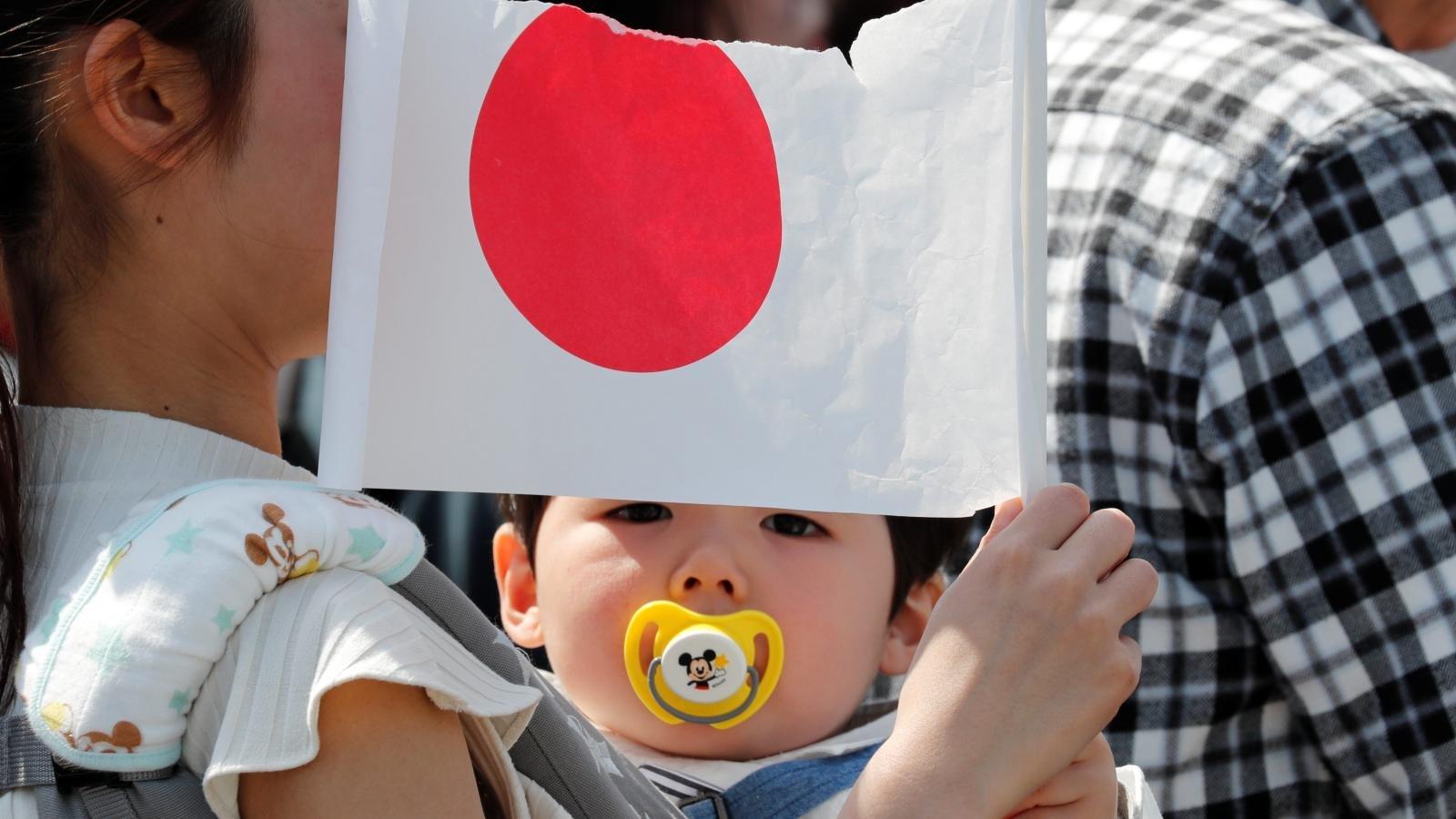 Япон улсын хүн амд хүүхдүүдийн эзлэх хувь түүхэн доод хэмжээндээ хүрчээ