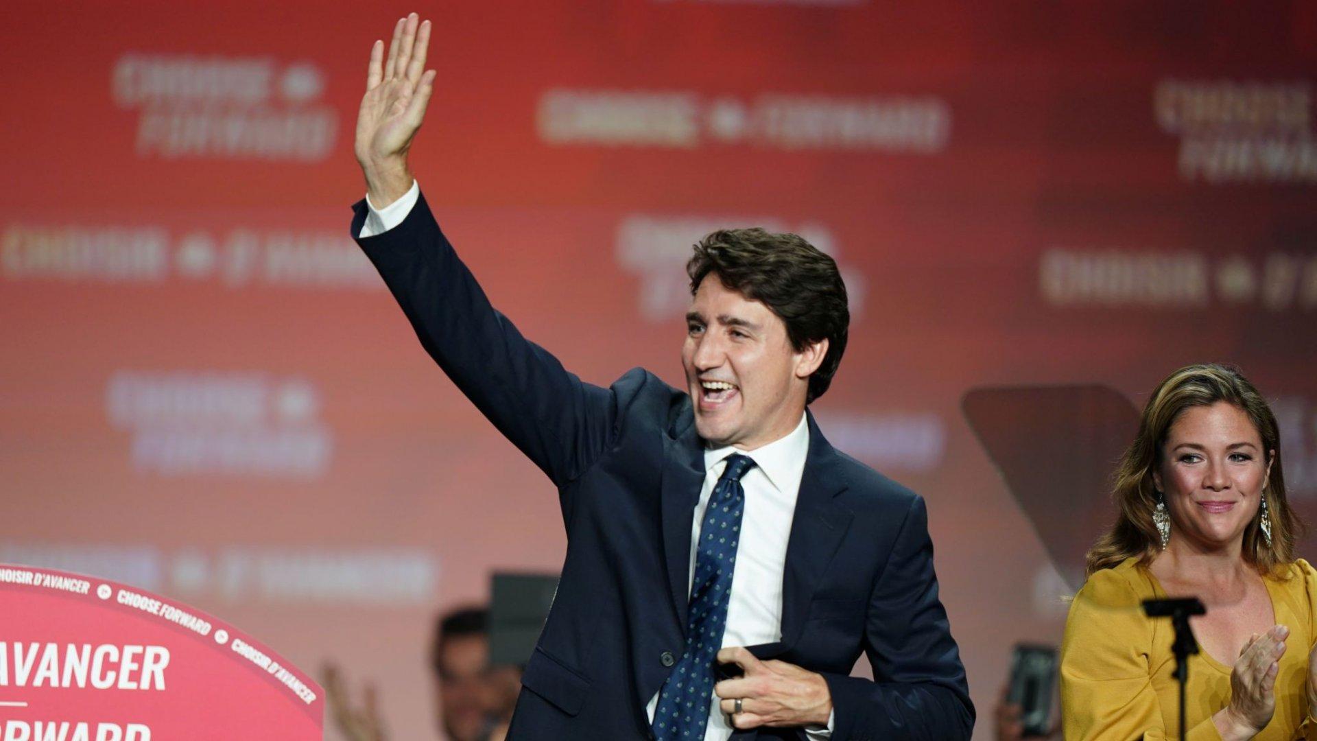 Канад улсын Ерөнхий сайдаар Жастин Трудо улиран сонгогдох магадлал өндөр байна