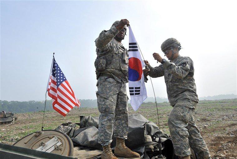 АНУ Өмнөд Солонгосоос 4000 хүртэлх цэргээ буцаан татах асуудлаар хэлэлцэж байна