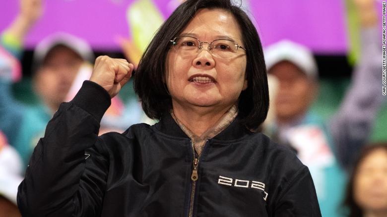 Тайваньд явагдсан ерөнхийлөгчийн сонгуульд Цай Инвэнь ялалт байгууллаа