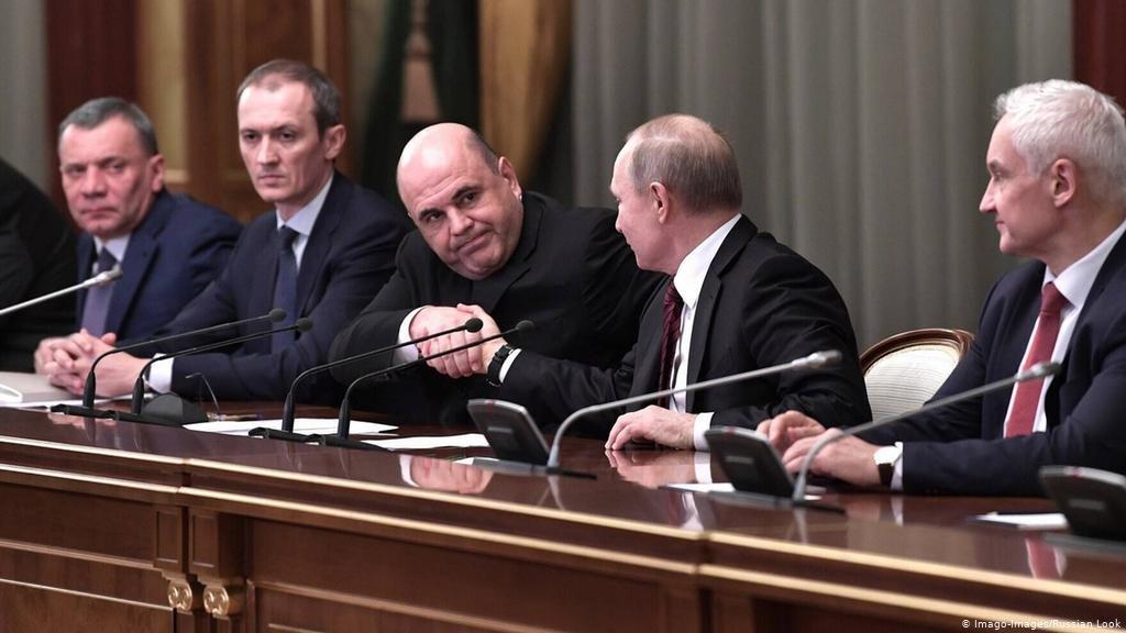 ОХУ-ын ерөнхий сайд Михаил Мишустин засгийн газраа бүрдүүллээ