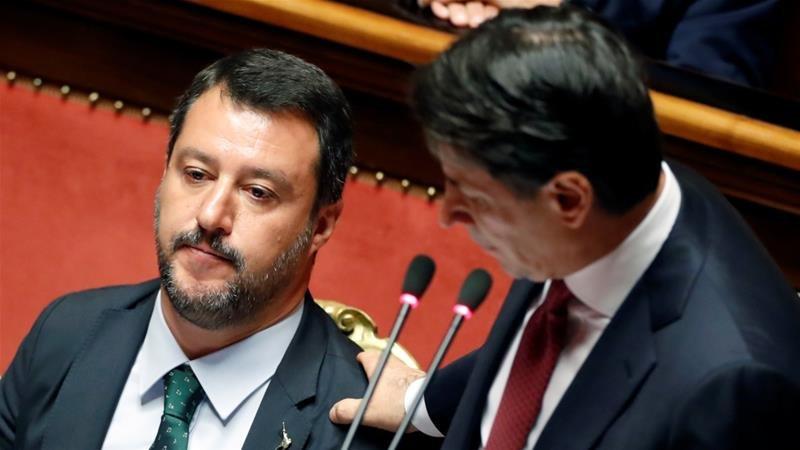Итали улсын сенатын танхим шадар сайд М.Сальвинигийн бүрэн эрхийг түдгэлзүүллээ
