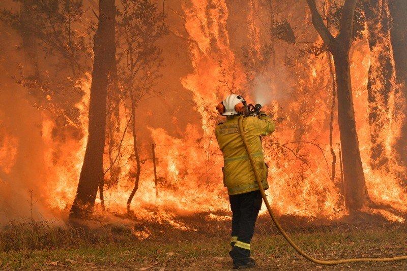 Австрали улсын Сидней хотод ой хээрийн түймрийн улмаас усны хатуу хязгаарлалт тогтоолоо