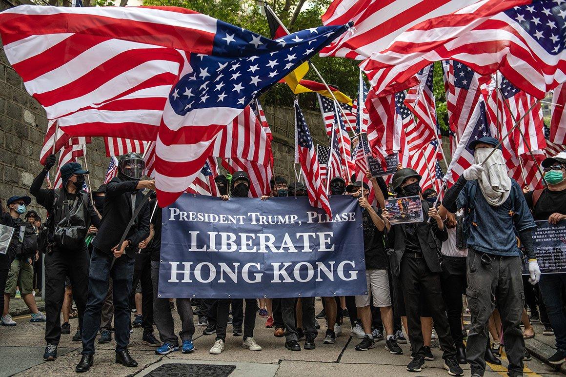 АНУ-ын санаачилсан Хонконгийн тухай хуулийн төсөл Хятад улсын эсэргүүцэлтэй тулгарлаа